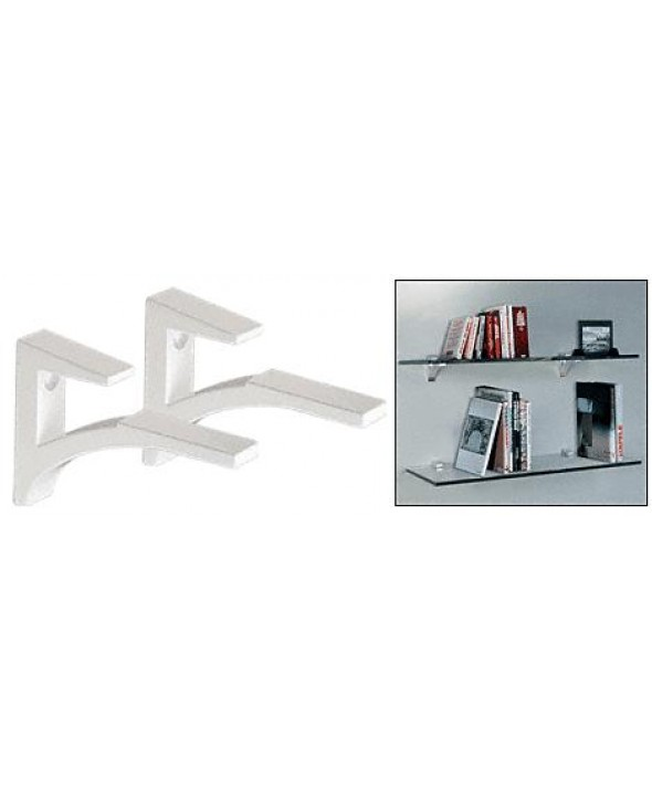 ALUMINUM SHELF BRACKET FOR 5/8 TO 3/4