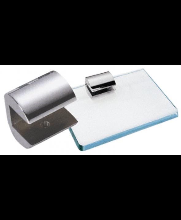 1-1/4INCH LONG GLASS SHELF CLAMPS