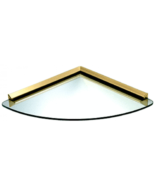 KV Corner 12 inch Glass Shelf Kit | IGM