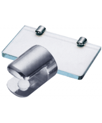 1/2INCH LONG GLASS SHELF CLAMPS
