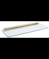 8 X 24 inch Decorative Glass Shelf Kits w/ Bracket