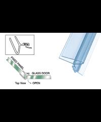 Polycarbonate 135º Strike Jamb for 3/8 Glass