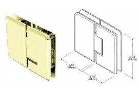 Pinnacle Series 180º Glass-To-Glass Hinges