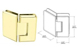 Pinnacle Series 135º Glass-To-Glass Hinges