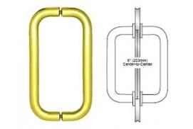 8inch Back-to-Back Tubular Handle w/o Washers