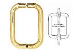 6inch Back-to-Back Tubular Handle w/o Washers