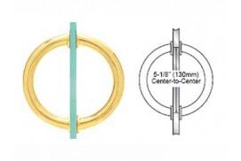 5-3/4inch Tubular Back-To-Back Circular Style Handles