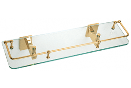 Geneva Series 18 inch Glass Shelf