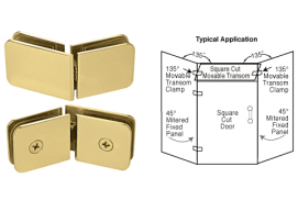 135º Movable Transom Clamp