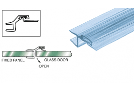 Polycarbonate Strike and Door Jamb for 180º