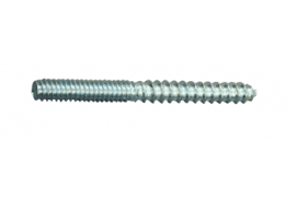 2 INCH LONG ZINC HANGER BOLTS FOR 1/2 INCH STANDOFF'S