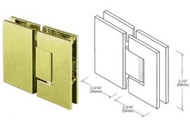 Geneva Series 180º Glass-To-Glass Hinges