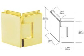 Geneva Series 135° Glass-to-Glass Hinges