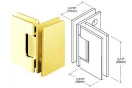 Geneva Series 90° Glass-To-Glass Hinges