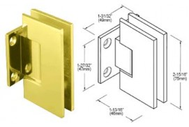 Junior Geneva Series Wall Mount Short Back Hinges