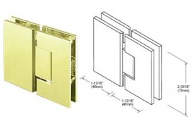 Junior Geneva Series 180° Glass-to-Glass Hinges