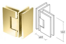 Junior Geneva Series 90° Glass-to-Glass Hinges