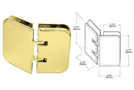 Estate Series 135° Glass-to-Glass Hinges