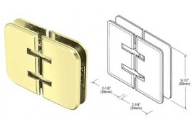 Estate Series 180° Glass-to-Glass Hinges