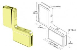 Prima Series Inline Panel Mount Hinges